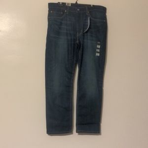 Levi's 541 flex with athletic tapper